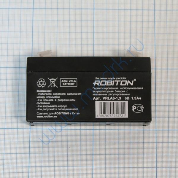 Батарея аккумуляторная VRLA 6-1,3 Robiton  Вид 1