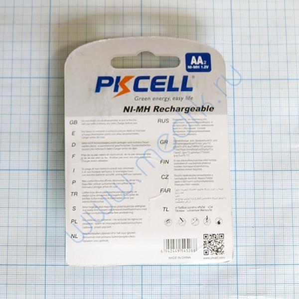 Аккумулятор AA/LR6 Ni-Mh BL2, PKCell  Вид 2