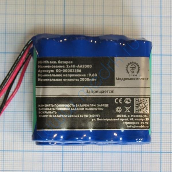 Батарея аккумуляторная 2х4H-AA2000B с разъемом (МРК)  Вид 2