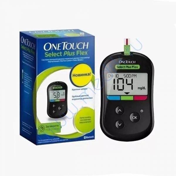 Глюкометр OneTouch Select Plus Flex  Вид 1