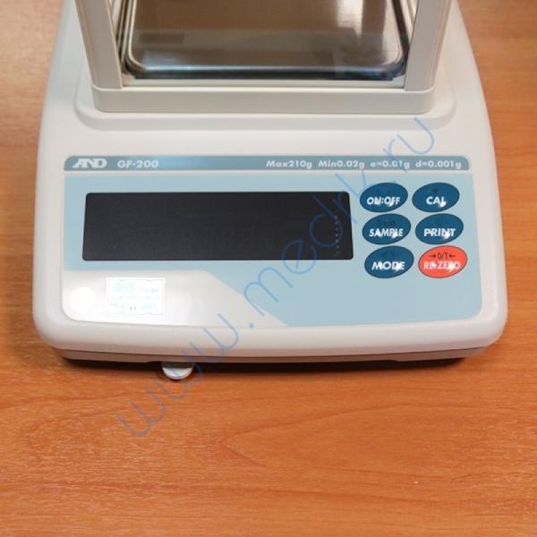 Весы лабораторные электронные AND GF-200   Вид 2