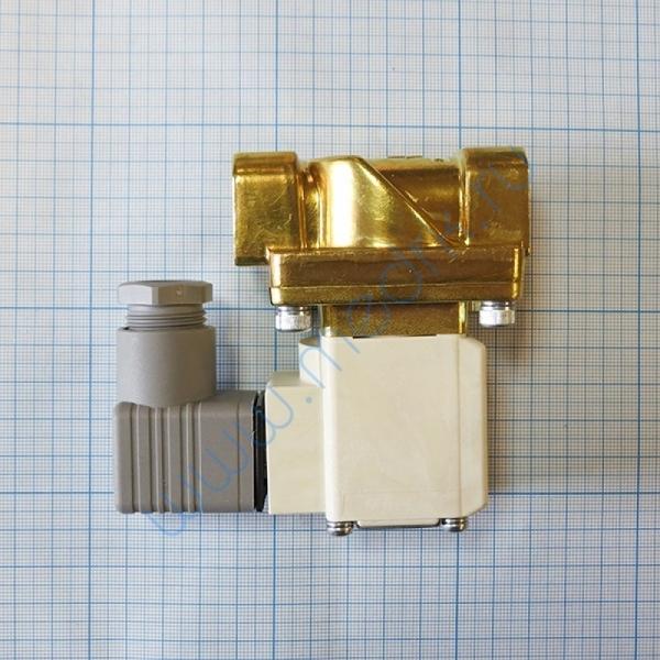 Клапан НЗ 220VAC 1/2 для ГК-100 СЗМО  Вид 2