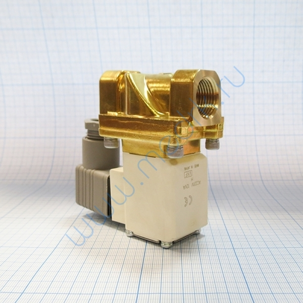 Клапан НЗ 220VAC 1/2 для ГК-100 СЗМО  Вид 4