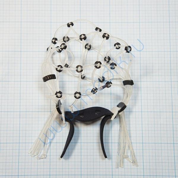 Шлем ЭЭГ-РЭГ 42/46-Ч для аппарата Энцефалан-131-03  Вид 2