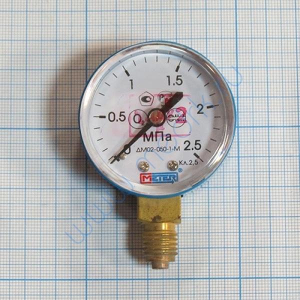 Манометр ДМ 02-050 2,5 МПа кислород  Вид 1
