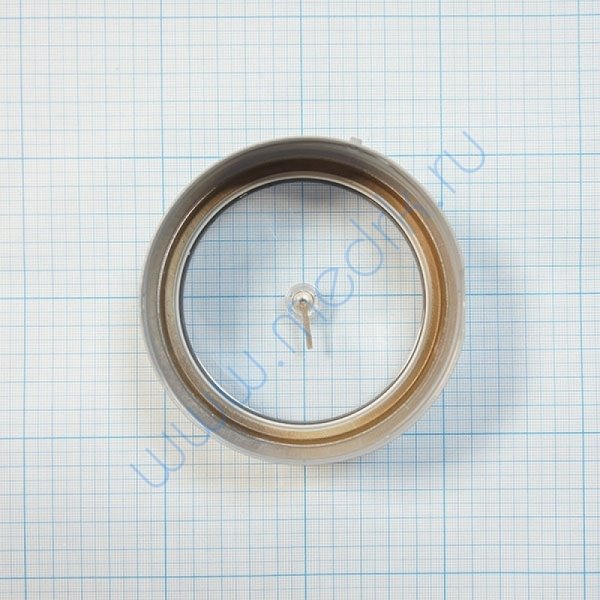 Стекло с рычажком для манометра ДМ2010  Вид 3