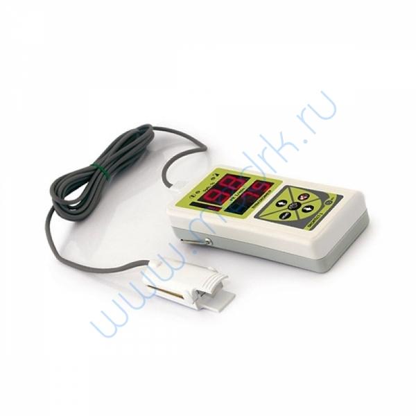 Пульсоксиметр портативный Окситест-1 с сетевым адаптером, со взрослым и детским датчиками  Вид 1