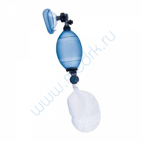 Комплект дыхательный одноразовый для ручной ИВЛ (мешок Амбу) с одной маской КДО-МП-В  Вид 1
