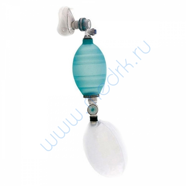 Комплект дыхательный (многоразовый) для ручной ИВЛ (мешок Амбу) с двумя масками КД-МП-В  Вид 1