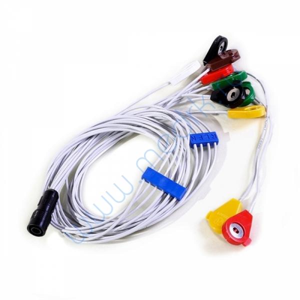 Кабель соединительный на 10 электродов для КТ-07  Вид 1