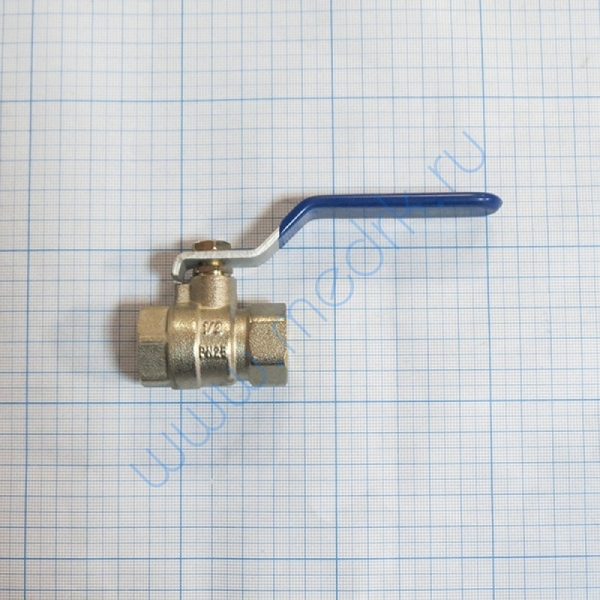 Кран 1/2 хромированный для ВК-75, ГК-100-3М  Вид 1