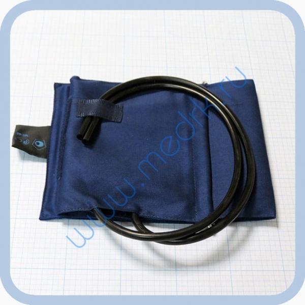 Манжета с камерой для взрослых на липучке со скобой (32-45) увеличенная  Вид 1