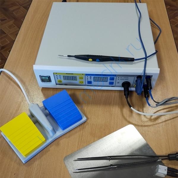 Аппарат ЭХВЧ-0202-ЭФА (модель 0202-1, 100 Вт) электрохирургический высокочастотный  Вид 3