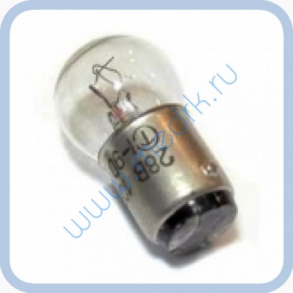 Лампа самолетная СМ 28-10 B15d/18  Вид 2