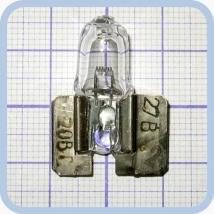 Лампа галогенная (галогеновая) КГСМ 27-20 кварцевая самолетная