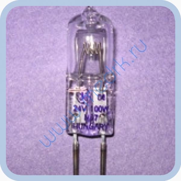 Лампа галогенная КГМ 24-100 GY6,35  Вид 1