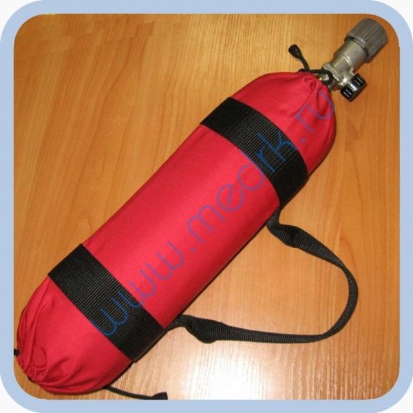 Баллон БМК-300В-4-2-1-1 (кислород, 4л) с вентилем КВМ-200А и чехлом