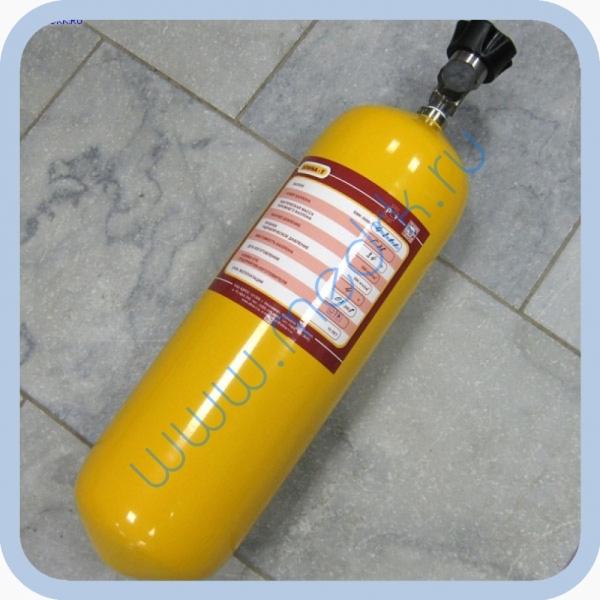 Баллон БМК-300В-4-2-1-1 (углекислый газ, 4л) с вентилем ВС-16 и чехлом
